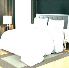 white duvet cover twin off ruffle quilt