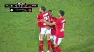 اهداف مباراة الاهلي وغزل المحلة (3-0) الدوري المصري - بطولات