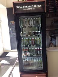 Cold Pressed Juice Vending Machine Beauteous Cold Pressed Juices Fridge Yelp