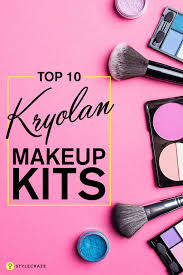 kryolan is a top professional makeup brand designed for both professional and performers here is a list of top kryolan make up kits used by makeup