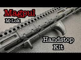 Magpul <b>M-Lok Handstop</b> Kit - YouTube