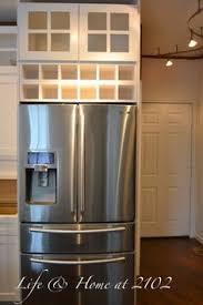wine rack cabinet above fridge. Life \u0026 Home At 2102: Kitchen Renovation Day 9 To 13 Wine Racks Above Fridge Rack Cabinet