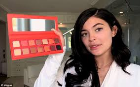 beauty mogul kylie jenner 20 goes from barefaced to fully done up in