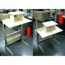 diy sit stand desk sit stand desk sit stand desk convertible standing sitting desk for steps