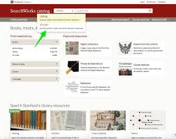 Website Article Find Articles Stanford Libraries