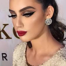 how to wear the eback 80s makeup trends now dramatic eyes and lips