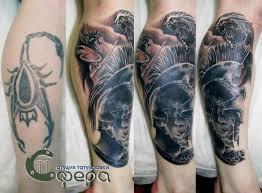галерея работ студия татуировки сфера ггомель