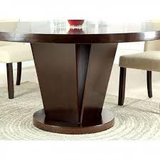 cimma contemporary espresso round dining table set