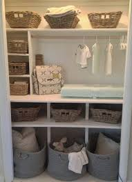 Briliant Nursery Closet Organization