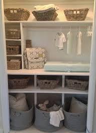 Storage & Organization: Hanging Store Blankets In Nursery Closet - Nursery  Furniture