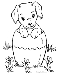 Small Picture Puppy Coloring Sheets