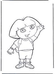 Kleurplaten Dora Kleurplaat Dora Sinterklaas Dora Kleurplaat