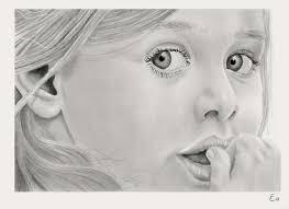 Ritratti A Matita Di Bambini E Disegni Che Arrivano Al Cuore
