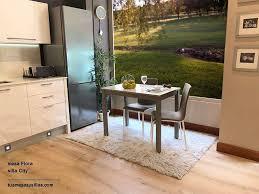 Extension De La Table Moderne Avec Comptoir En Verre