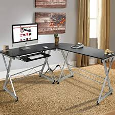 best home office. Best Choice Products Wood L-Shape Corner Computer Desk PC Laptop Table Workstation Home Office
