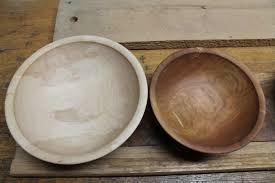 bowls dave brown made from apple and hop hornbeam very hard woods