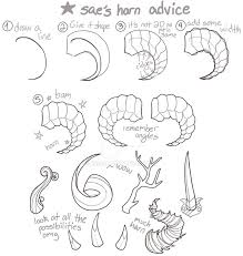Demon Horn Designs 32 Fundamental How To Draw Horns