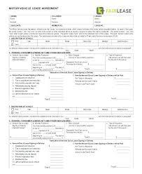 Blank Printable Lease Agreement Free Premium Templates Rental ...
