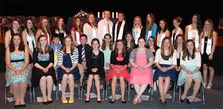 apw national junior honor society inductions oswego county today members of the apw chapter of the national junior honor society are pictured seated in