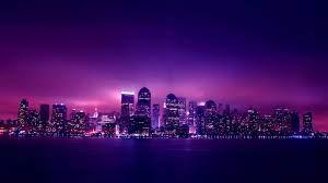 Violet City Hd Wallpaper