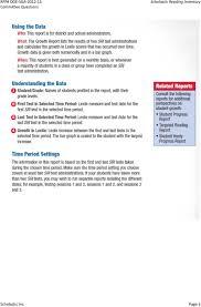 Scholastic Inc Scholastic Reading Inventory Pdf