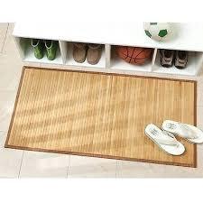 bamboo floor mats for kitchen 2 of 3 bamboo floor mat bathroom shower rug home toilet