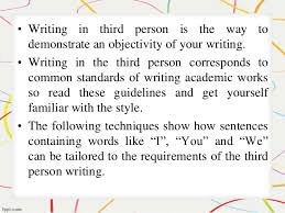 writing an expository essay in third person how to compose an excellent 3rd person expository essay