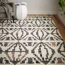 geometric steps kilim rug west elm west elm outdoor rug
