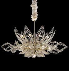 chic simple glass chandelier lu murano silver mirror finish chandelier 36 light modern murano