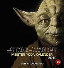 Star Wars Meister Yoda Postkartenkalender 2019 Kalender Bestellen