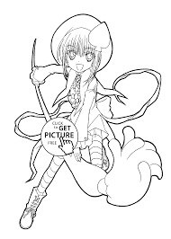 Small Picture Manga coloring pages