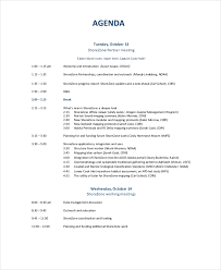 Agenda For Meetings Format 10 Business Meeting Agenda Templates Free Sample Example