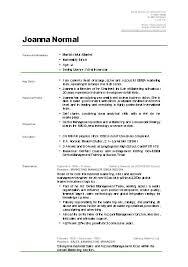 student cv template samples sample template for resume