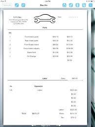 Car Repair Receipt Auto Receipt Template Car Repair Receipt Template