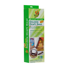Duck Brand Double Draft Door Seal, Brown, 2-Pack - Walmart.com