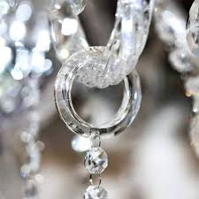 crystal prisms for chandeliers cristalier chandelier bling ring crystal hangers for chandelier arms o rings clear