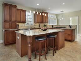 white oak wood driftwood raised door kitchen cabinets los angeles backsplash mosaic tile laminate glass countertops sink faucet island lighting flooring