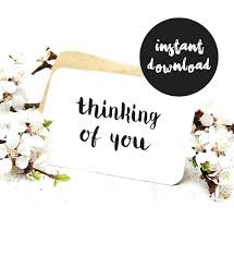 Card For Loss Of Pet Printable Sympathy Cards Items Similar To Thinking Of You Card Black
