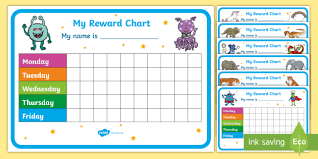 Printable Behavior Charts For Parents Free Reward Chart Pack Teacher Made