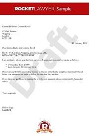 first rent demand letter