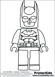 Lego Person Coloring Pages At Getdrawingscom Free For Personal