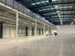 mezzanine office space. Mezzanine Floor In Warehouse Office Space