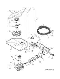 parts for ge pdwjss dishwasher com 05 motor pump mechanism parts for ge dishwasher pdw7880j00ss from com