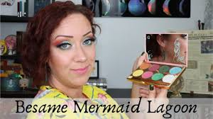 bésame mermaid lagoon collection nerdy makeup