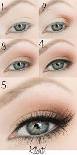 cute simple makeup ideas for blue eyes 6153