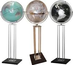 world globe on stand. Image Is Loading GIANT-World-Globe-Floor-Stand-Silver-Black-Teal- World Globe On Stand E