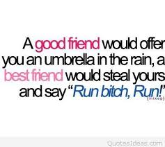 Funny Quote About A Good Friend Adorable A Good Friend Quote