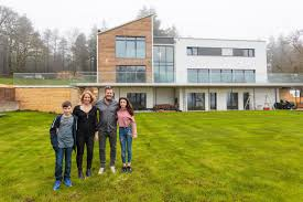 Flatpack House Pre Fabs Sprout C4s Flat Pack Mansions Reveals The Hi Tech Homes