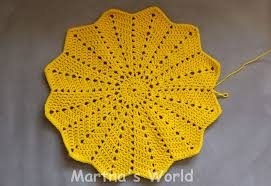 Crochet Circle Pattern Mesmerizing My First Round Ripple Or How I Crocheted Sunshine Martha's World