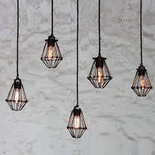 jailhouse cage cluster pendant jailhouse cage cluster pendant cage lighting pendants